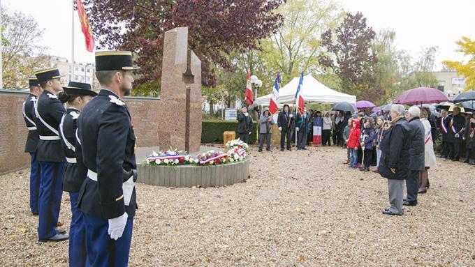 Retour en images sur la commémoration du 11 novembre