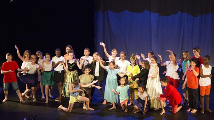 Un spectacle de musique, de théâtre et de danse !