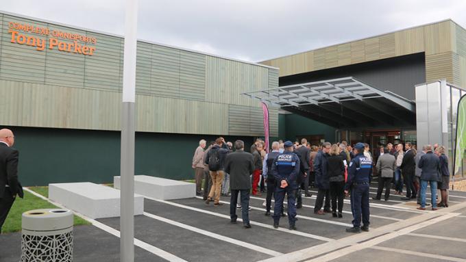Retour en images sur l'inauguration du complexe Tony Parker