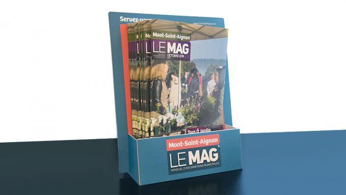 La distribution du magazine municipal évolue